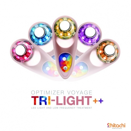 new  optimizer voyage tri light   rose gold limited edition